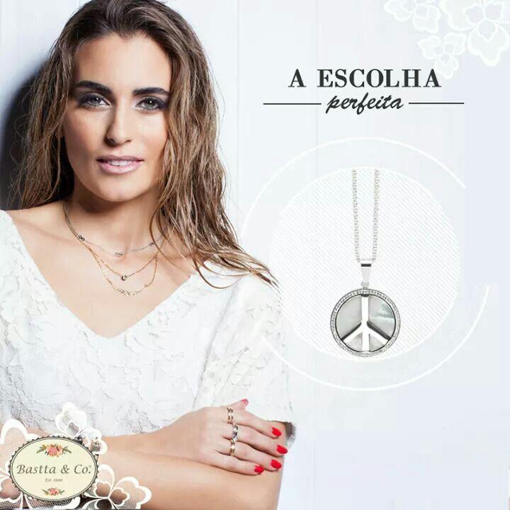 Bastta & co - colar em aço bastta.bijoux@gmail.com