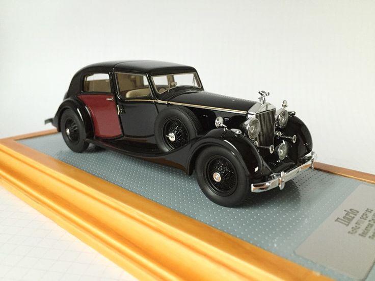 Ilario IL43088 Rolls Royce Phantom III  Sedanca De Ville 1937 Park Ward sn3CP192 www.ilario.com