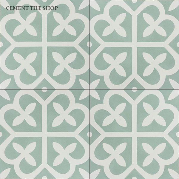 Comes in a lot of different colors  Cement Tile Shop - Encaustic Cement Tile Mahlia