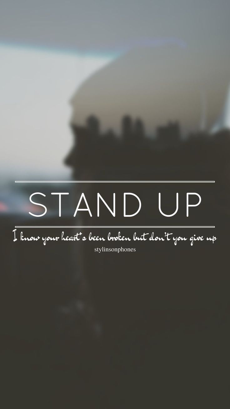 Stand Up // One Direction // ctto: @stylinsonphones (on Twitter)