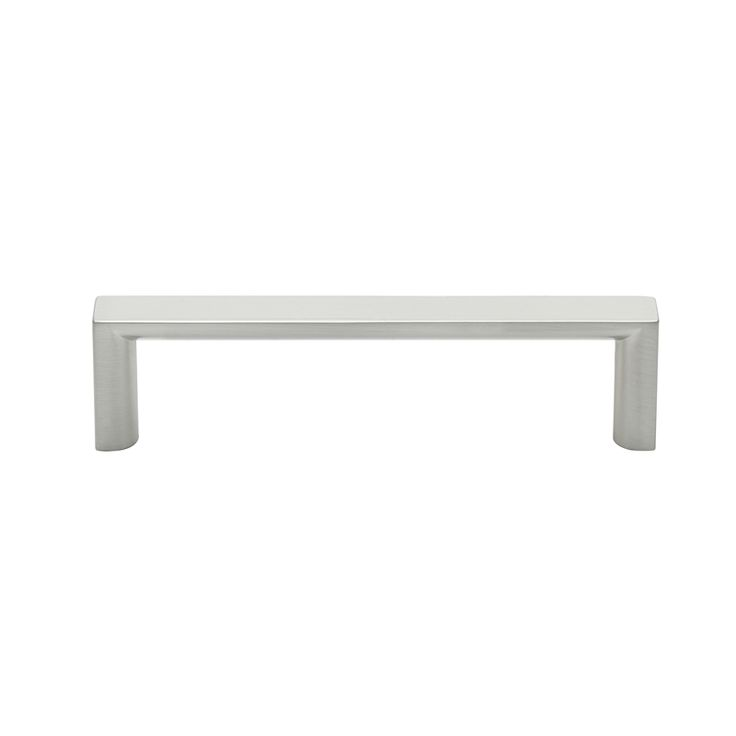 Prestige 96mm Brushed Nickel Half Round And Square Handle