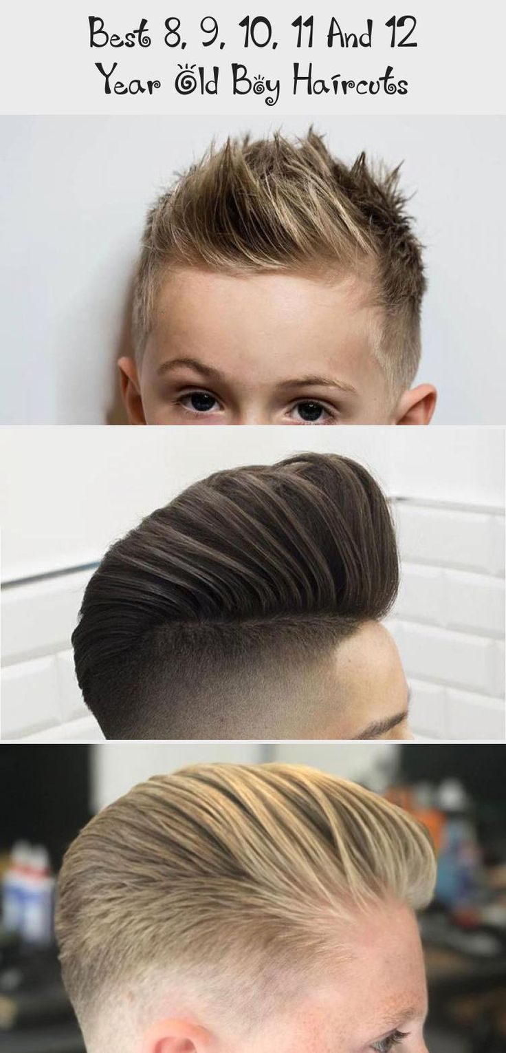 Best 8, 9, 10, 11 And 12 Year Old Boy Haircuts   Little ...