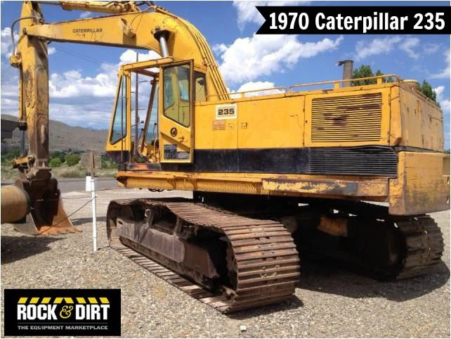 #ThrowbackThursday Check out this 1970 #Caterpillar 235 Excavator!