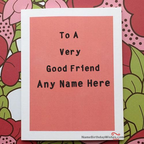 12 Best Birthday Wishes Cards With Name Images On