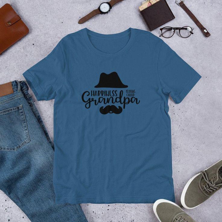 Grandpa Mustache Shirt; Grandparent's Day Gift for Grandpa