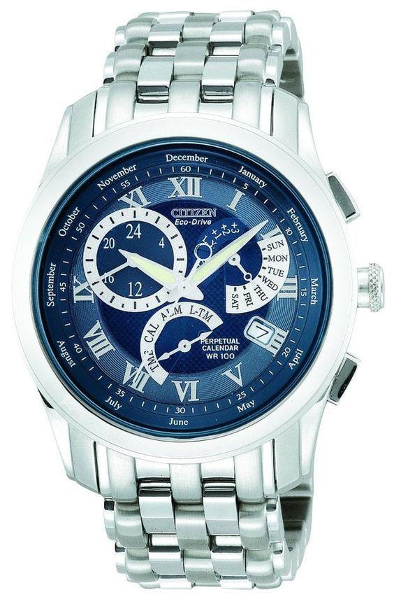 Men watches Men top watches sale Citizen Men's BL8000-54L Eco-Drive Calibre 8700 Perpetual Calendar Sport Watch