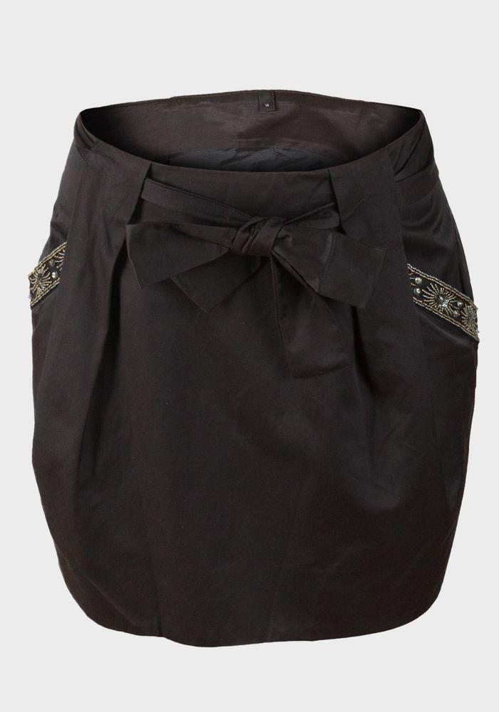 Bejeweled Skirt UK8  Falda adornada ES36