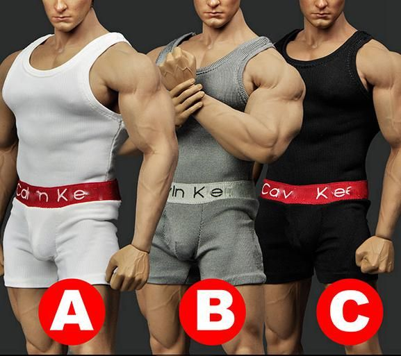 """$17.80 (Buy here: https://alitems.com/g/1e8d114494ebda23ff8b16525dc3e8/?i=5&ulp=https%3A%2F%2Fwww.aliexpress.com%2Fitem%2F1-6-scale-figure-doll-clothes-Accessory-male-underwear-for-12-action-figures-doll-fit-PHICEN%2F32797442751.html ) 1/6 scale figure doll clothes Accessory male underwear for 12"""" action figures doll fit PHICEN m34,Not included body and head for just $17.80"""