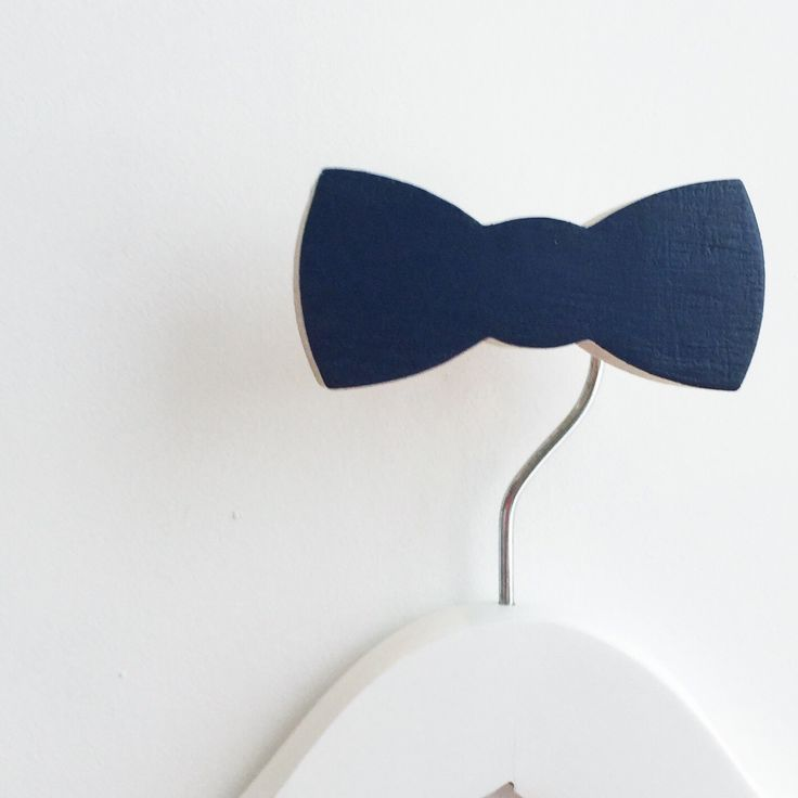New arrival Bow Tie wall hooks have landed at www.knobbly.com.au