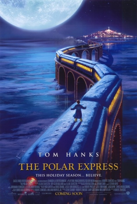 The Polar Express ~ Ty's favorite Movie right now He loves it I bet we've watched it over 30 times this Christmas