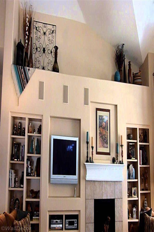 Wall Decor Design In 2020 Ledge Decor Wall Shelves Living Room High Shelf Decorating