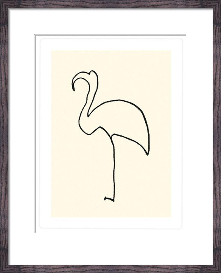 Le flamand rose (Silkscreen print) Silkscreen Print by Pablo Picasso at King & McGaw