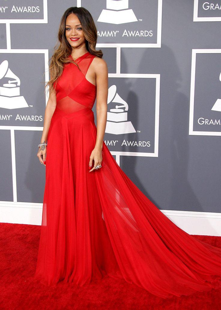1000 ideas about rihanna red dress on pinterest rihanna