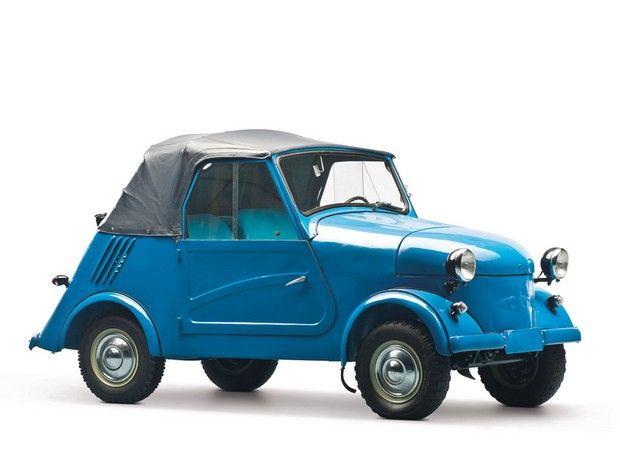 1970 SMZ S-3A 350cc Russian Microcar