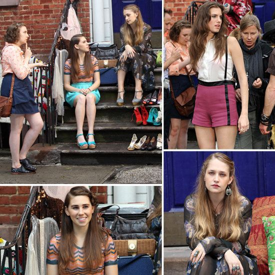 GIRLS style - See photos of the HBO comedy TV show http://www.wildsound-filmmaking-feedback-events.com/girls_tv_show.html
