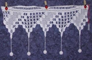 """Rideaux des Iles au crochet d'art ... Fiches techniques - Rideaux """"dentelle"""" inspirés des Iles bretonnes."""