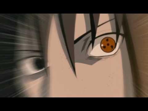 Sasuke Uchiha burns Obito Uchiha by Amaterasu