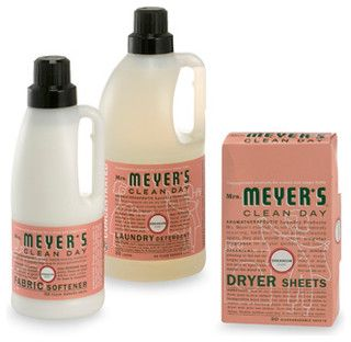 Mrs. Meyer's Clean Day Aromatherapeutic Geranium Laundry Cleaning Products - contemporary - laundry products - by Bed Bath & Beyond