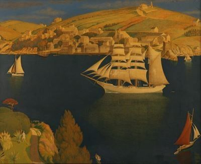 The Old Seaport  Joseph Edward Southall (1861–1944)