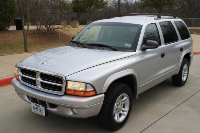 2003 Dodge Durango, 60,221 miles, $8,288.