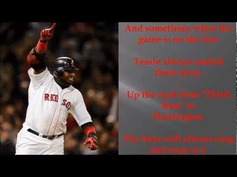 A little Red Sox Mojo for WS game tonight: Don't blame us if we ever doubt ya, you know we could not live without ya! Boston, you are the only only only! Tessie- Dropkick Murphys with Lyrics
