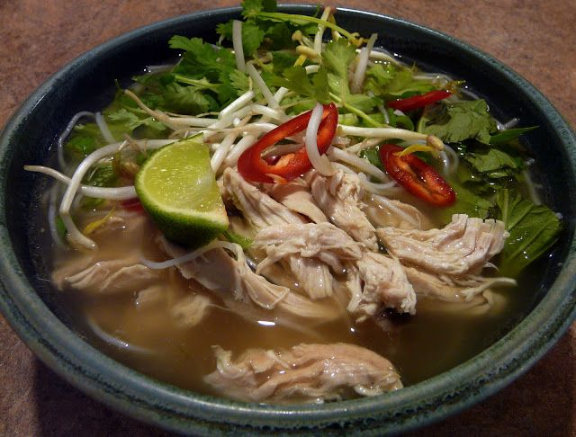 Thibeault's Table: Vietnamese Chicken Pho - Weekend Blog Showcase