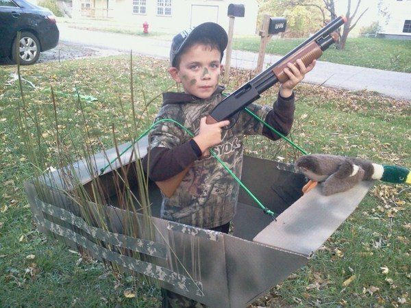 Cool boys halloween costumes DIY Duck dynasty Halloween costumes kids