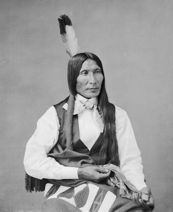 American Indians : Yellow Hair - Sicangu 1872.