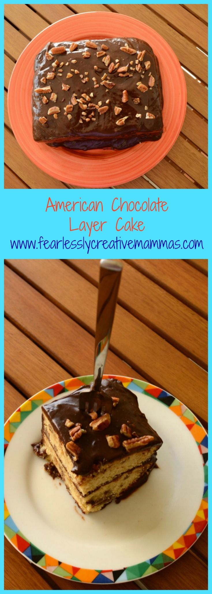 American Chocolate Layer Cake for Cake Slice Bakers