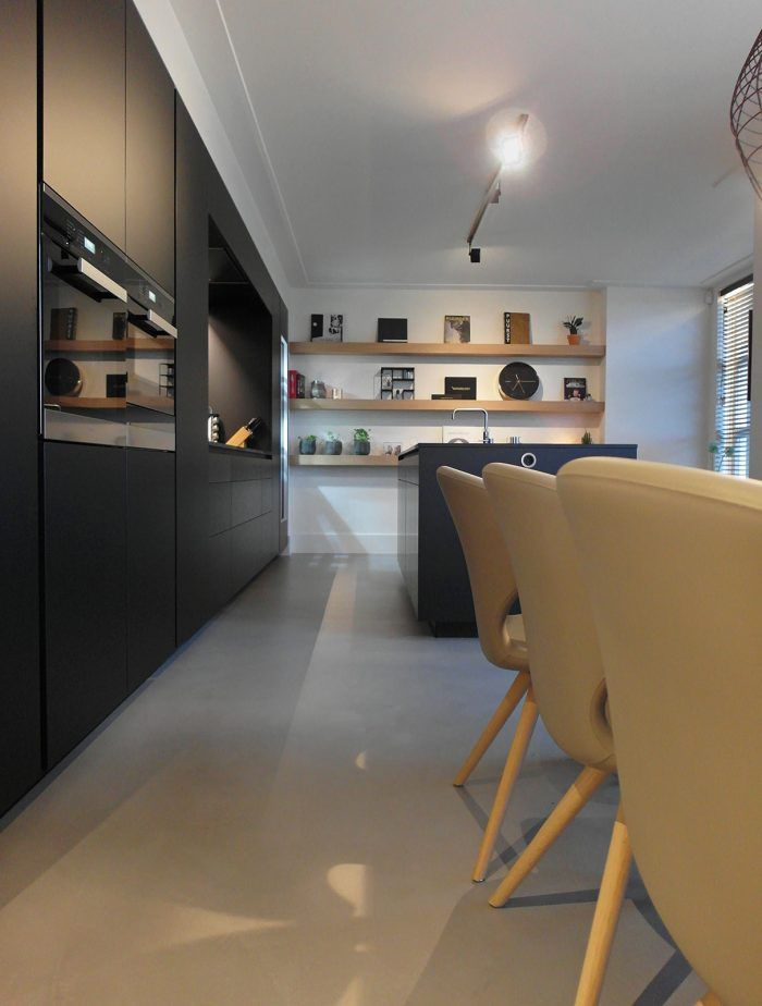 Microcement keuken
