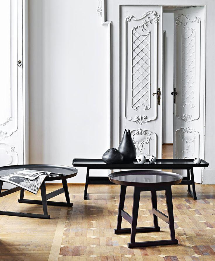 Small Table: RECIPIO - Collection: Maxalto - Design: Antonio Citterio