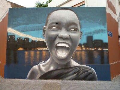 Mural del artista urbano argentino PRIMO