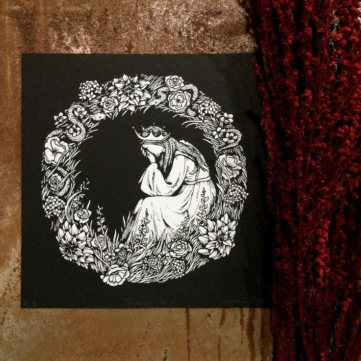 64 best art poison apple print shop images on pinterest for Tortured souls tattoo