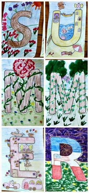 Planet Smarty Pants: A family summer art project #artforkids