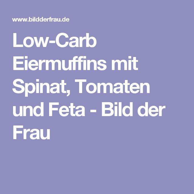 Low-Carb Eiermuffins mit Spinat, Tomaten und Feta - Bild der Frau