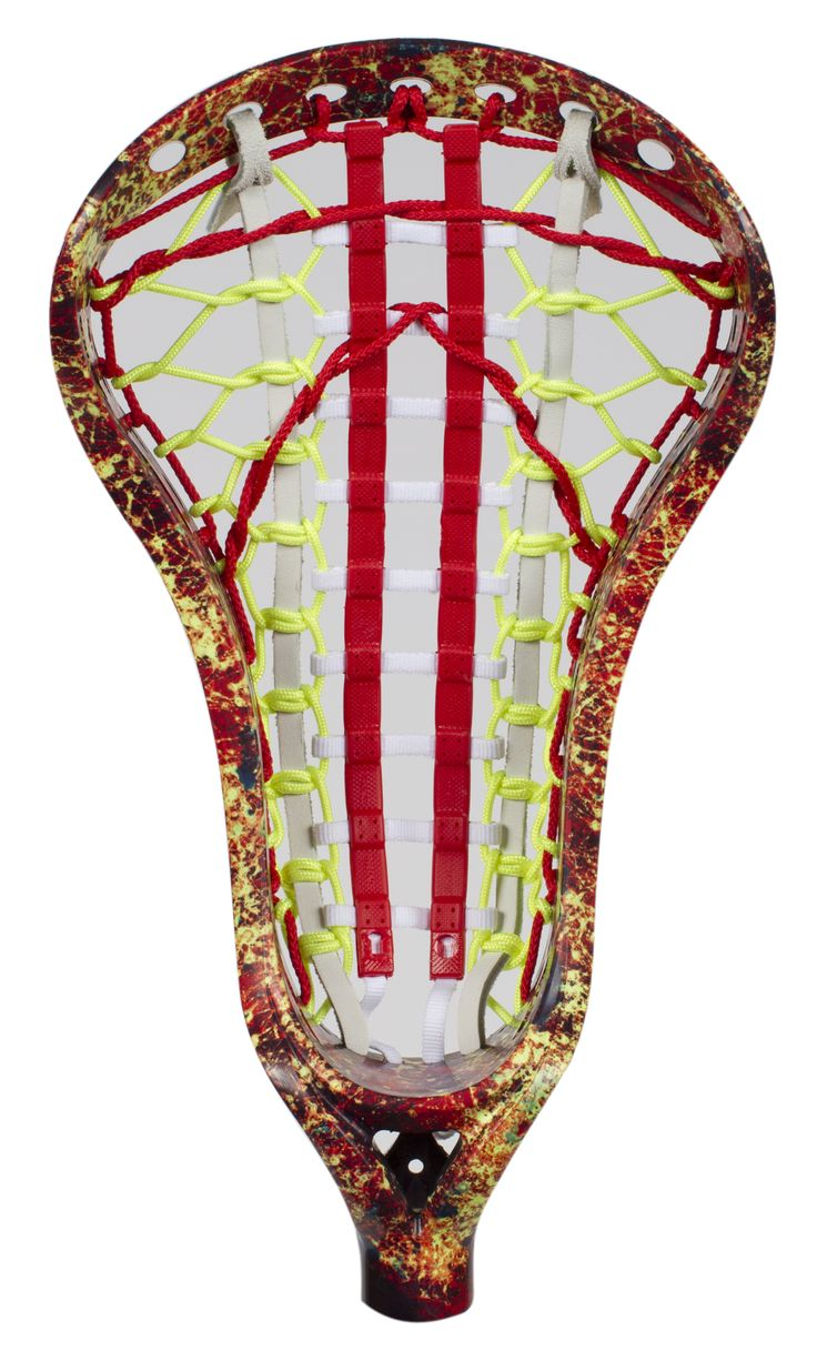Lacrosse Unlimited Girls Lacrosse Head Dyed - Crazy Lady Speckle girl