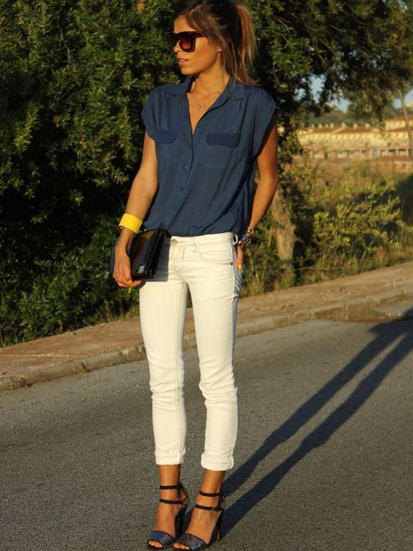 Fashion Fix: witte jeans - My Simply Special