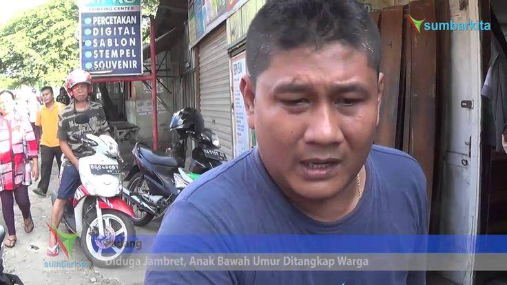 Diduga Jambret, Anak 13 Tahun Ditangkap Warga Padang