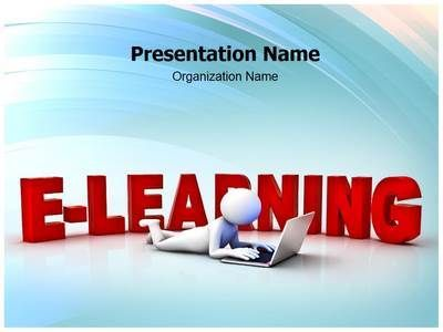 e learning powerpoint template is one of the best powerpoint
