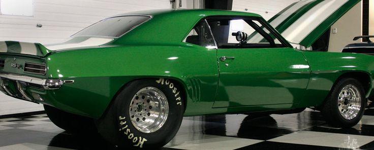 69 Camaro RS. Green machine