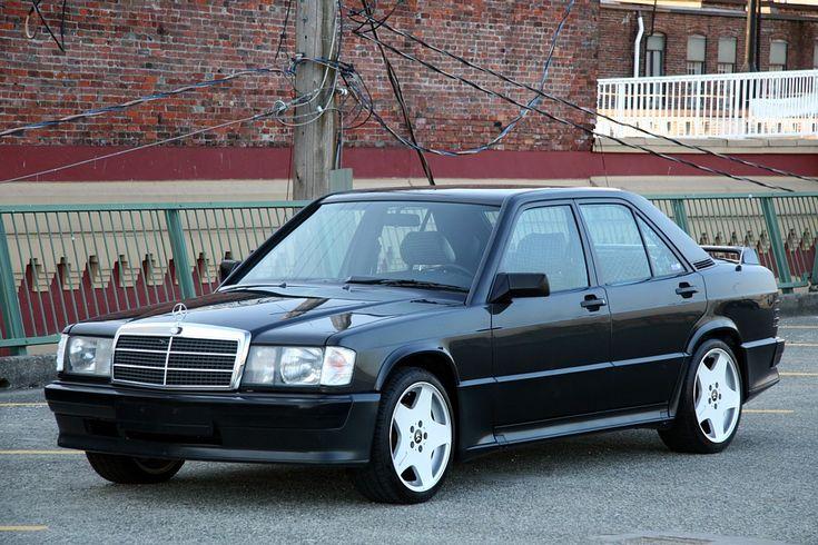 Classic Preppy Cars of the 80s- Mercedes Benz 190e