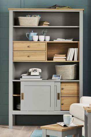 All The Compartments You Need And More With Our Stanton® Shelves In A Cool  Grey · Space Saving FurnitureLiving Room InspirationLiving ...