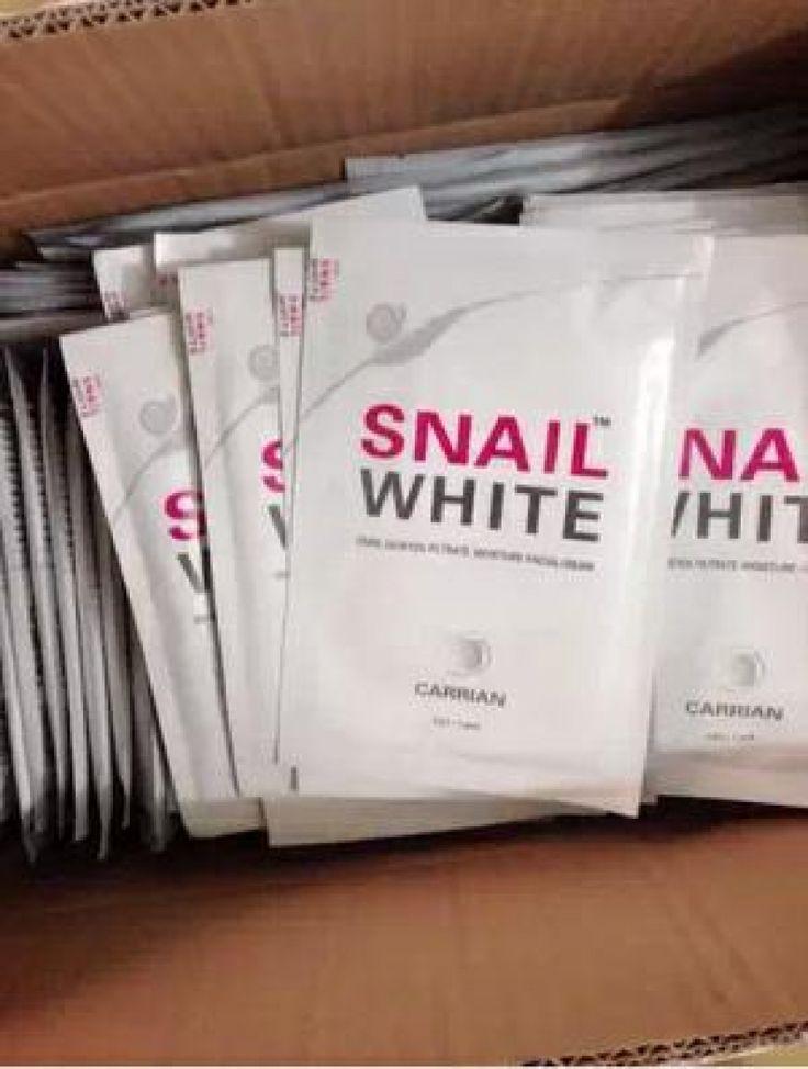 SNAIL WHITE MASK / MASKER WAJAH
