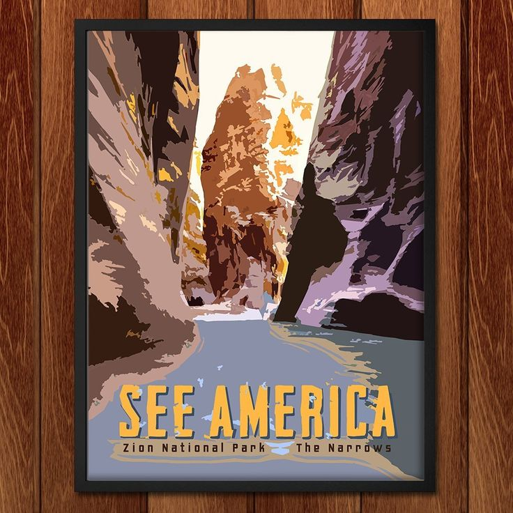 The Narrows, Zion National Park by Tom Jennus for See America - 2