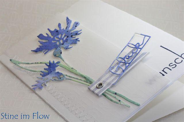 Stine im Flow: Kornblumenblau
