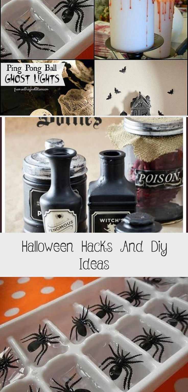 Halloween Hacks And Diy Ideas in 2020 Halloween hacks