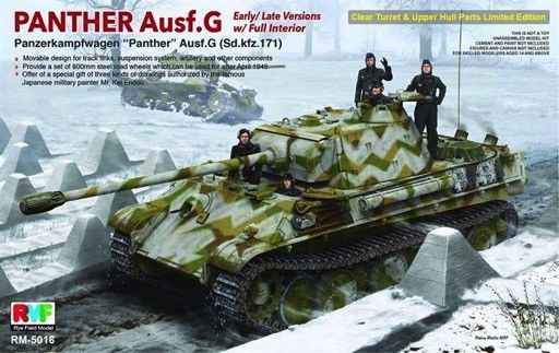 Armor 2588 1 35 Rye Field Models Sd Kfz 171 Panther G Late W Full