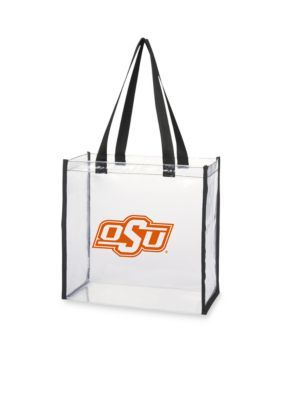 Desden  Oklahoma State University Clear Stadium Tote - Medium Orange - One Size