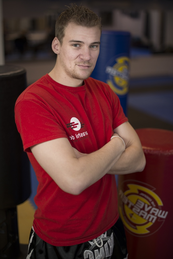 Nak Muay Chris Mcmillan, certified instructor, Muay Thai, fighter, cardio kickboxing