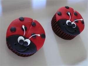 ladybug - cupcakes!